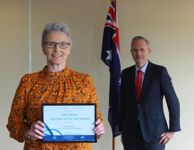 Volunteer's award